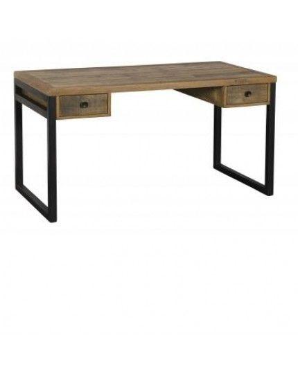 low priced af4cd b5965 Dalat Industrial Desk / Office Desk ( Reclaimed wood desk )