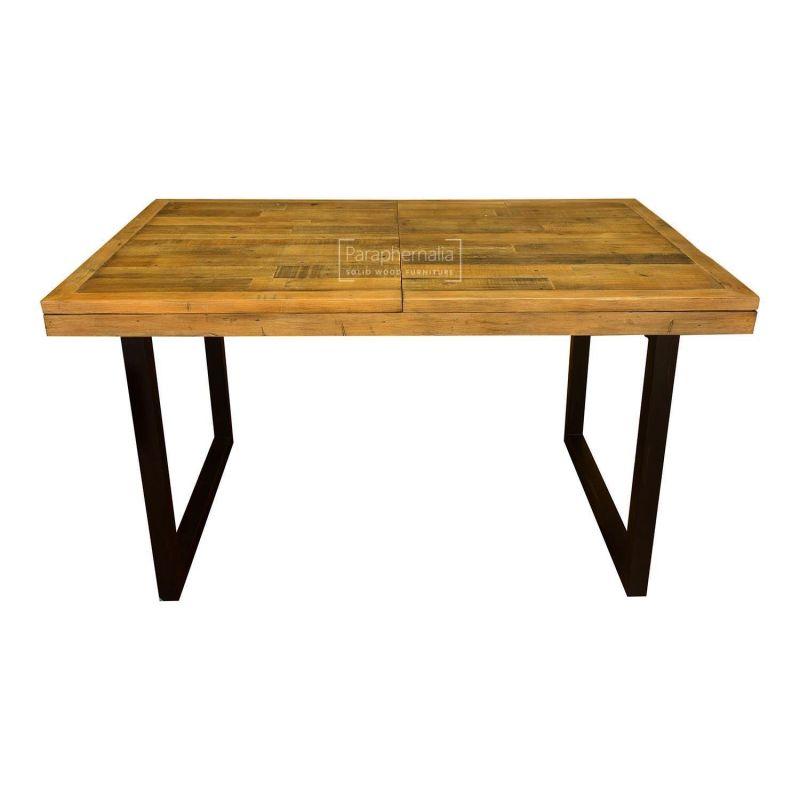 Dalat Dining Table Extending Reclaimed Wood