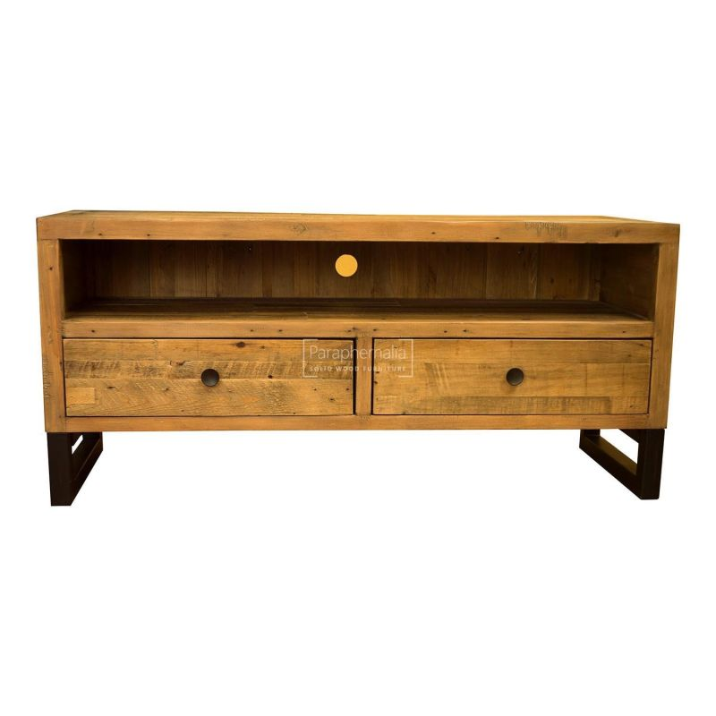detailed look 331a8 19bab Dalat Industrial TV Stand / Table ( Reclaimed wood TV Stand )