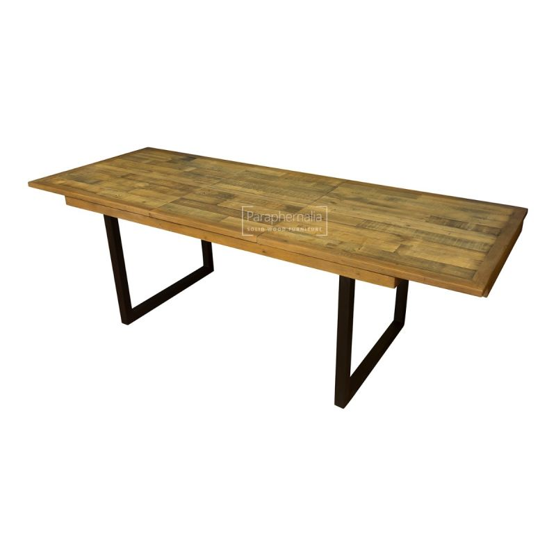 Dalat Dining Table Extending Large Reclaimed Wood