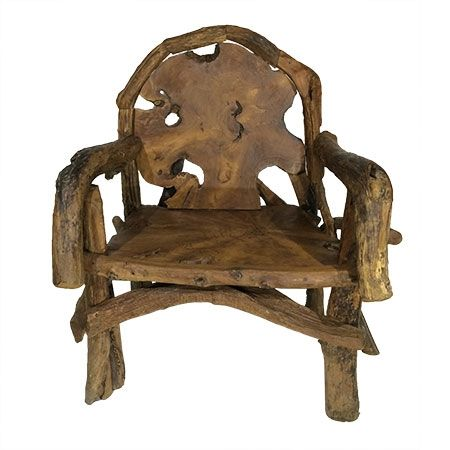 Stupendous Java Teak Root Throne Chair Beutiful Home Inspiration Ommitmahrainfo