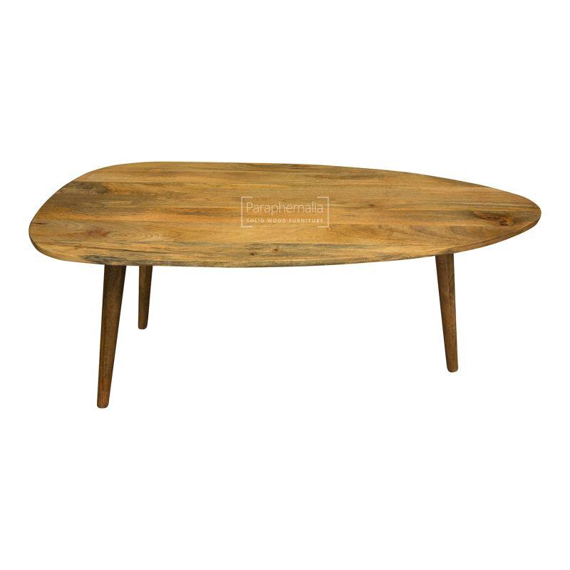 Round Wood Coffee Table.Oslo Light Mango Wood Coffee Table Oval Round