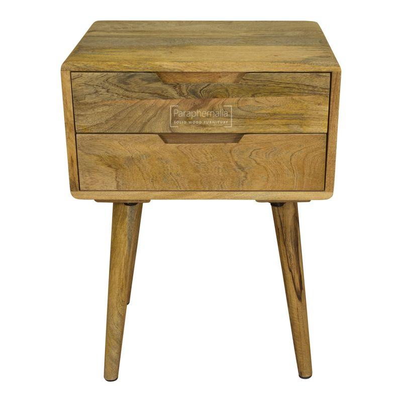 timeless design c6ccb 67d4e Oslo Light Mango Wood Side Table / Bedside