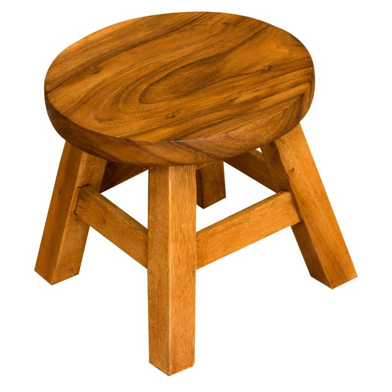 info for 905fc 96ae8 Monkey Pod Wood Stool (Short)