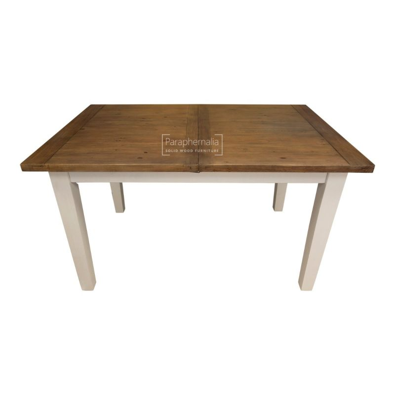 Himalaya Reclaimed Wood Painted Extendable Dining Table