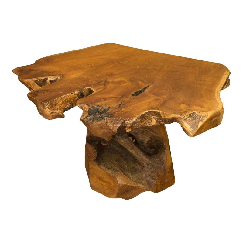 Java Teak Root Wood Coffee Table, Tree Root Furniture
