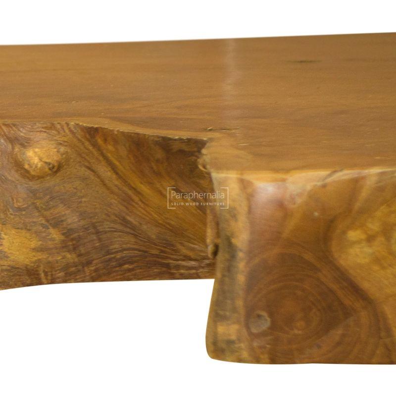Java Teak Root Wood Bar Table Kitchen Breakfast