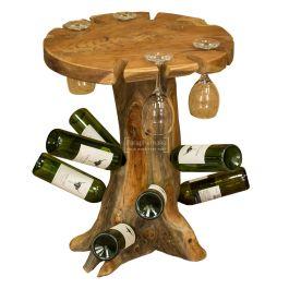 Java Teak Root Trunk Wine Table Teak Root Furniture