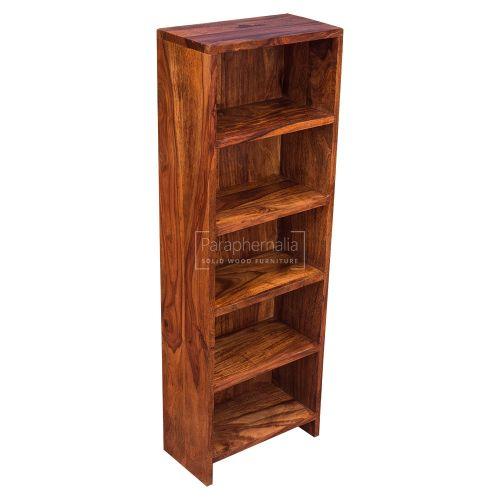 Gaya Cube Sheesham CD Rack / Mini Book Shelf